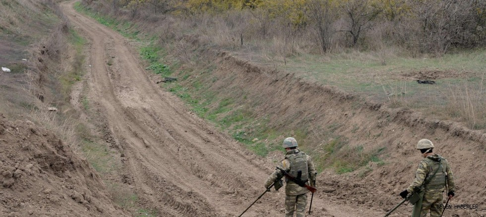 Armenian land mine kills 4 Azerbaijani civilians in newly liberated Fuzuli