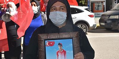 Families victimized by PKK hold protest in SE Turkey